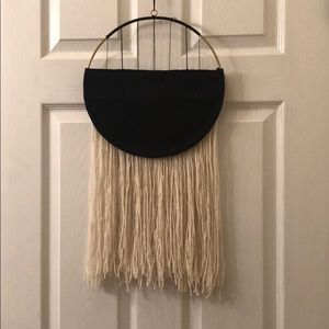 NEW Black and gold hanging wall decor